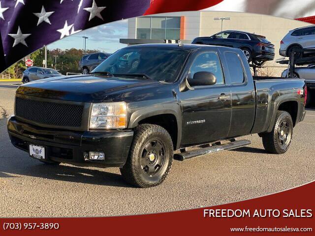 2011 Chevrolet Silverado 1500 for sale at Freedom Auto Sales in Chantilly VA