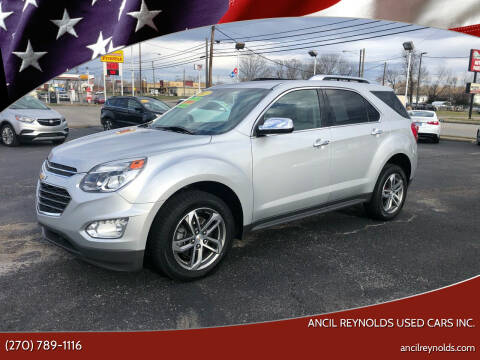 2017 Chevrolet Equinox for sale at Ancil Reynolds Used Cars Inc. in Campbellsville KY