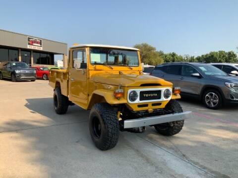 1982 Toyota Land Cruiser for sale at KIAN MOTORS INC in Plano TX