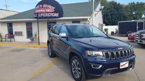 2018 Jeep Grand Cherokee for sale at DICK'S MOTOR CO INC in Grand Island NE