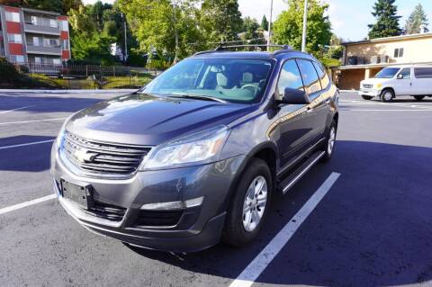 2014 Chevrolet Traverse for sale at Precision Motors LLC in Renton WA