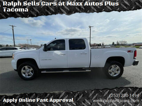 2011 GMC Sierra 2500HD for sale at Ralph Sells Cars at Maxx Autos Plus Tacoma in Tacoma WA