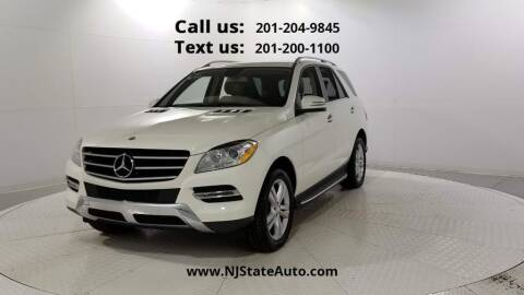 2013 Mercedes-Benz M-Class for sale at NJ State Auto Used Cars in Jersey City NJ
