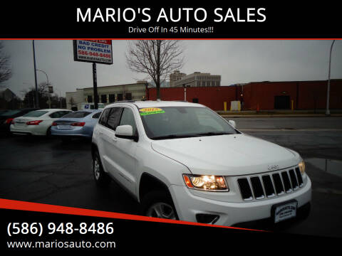 2015 Jeep Grand Cherokee for sale at MARIO'S AUTO SALES in Mount Clemens MI