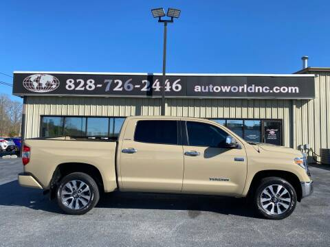 2018 Toyota Tundra for sale at AutoWorld of Lenoir in Lenoir NC