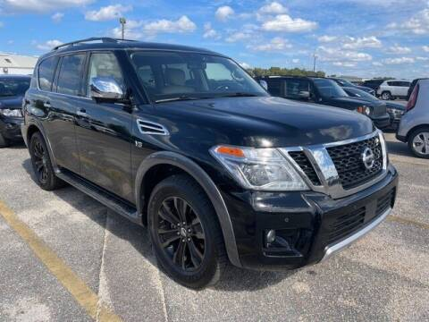 2018 Nissan Armada for sale at PHIL SMITH AUTOMOTIVE GROUP - SOUTHERN PINES GM in Southern Pines NC