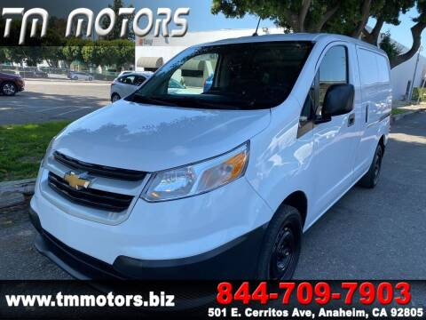 2017 Chevrolet City Express Cargo for sale at TM Motors in Anaheim CA