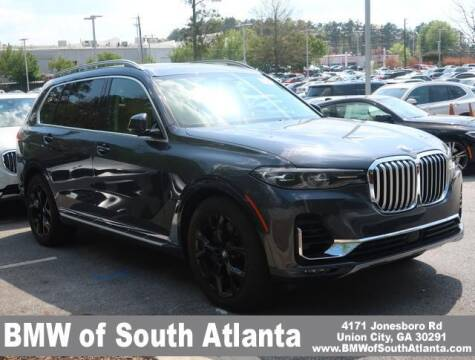 2019 BMW X7 for sale at Carol Benner @ BMW of South Atlanta in Union City GA