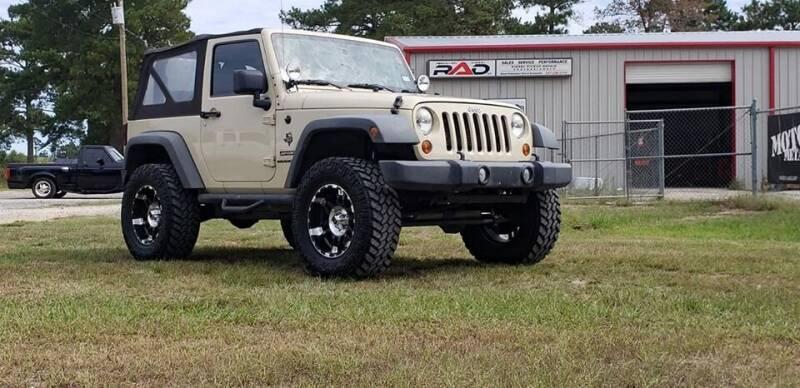 2012 Jeep Wrangler for sale at RED ALLEN DIESEL in Anacoco LA