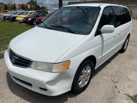 2004 Honda Odyssey for sale at Texas Select Autos LLC in Mckinney TX