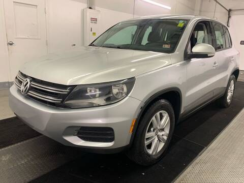 2014 Volkswagen Tiguan for sale at TOWNE AUTO BROKERS in Virginia Beach VA