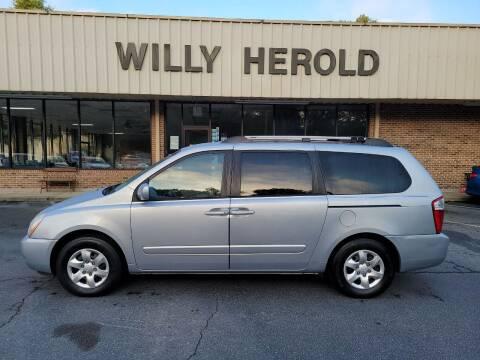 2008 Kia Sedona for sale at Willy Herold Automotive in Columbus GA