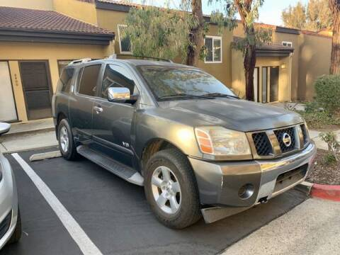 2007 Nissan Armada for sale at TOP OFF MOTORS in Costa Mesa CA