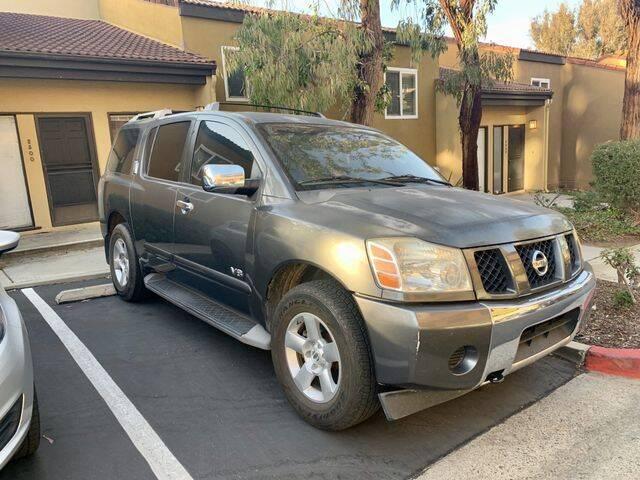 2007 Nissan Armada for sale at TOP OFF MOTORS in Costa Mesa CA