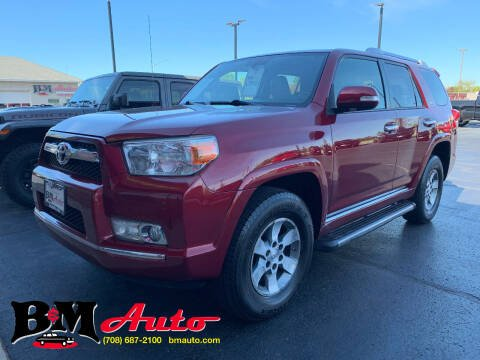 2011 Toyota 4Runner for sale at B & M Auto Sales Inc. in Oak Forest IL