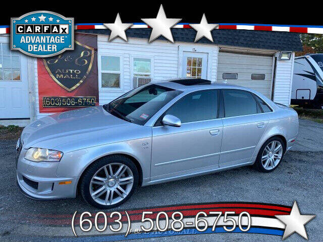 2007 Audi S4 for sale at J & E AUTOMALL in Pelham NH