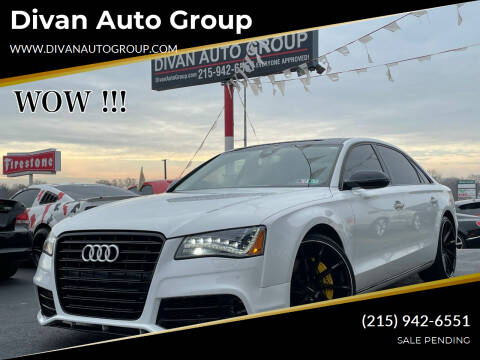2011 Audi A8 L for sale at Divan Auto Group in Feasterville Trevose PA