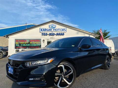 2019 Honda Accord for sale at Kargar Motors of Manassas in Manassas VA