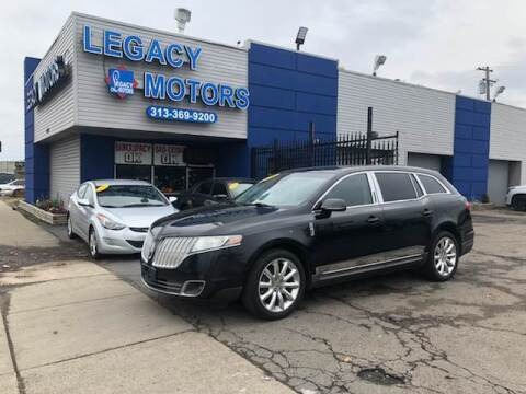 2010 Lincoln MKT for sale at Legacy Motors in Detroit MI