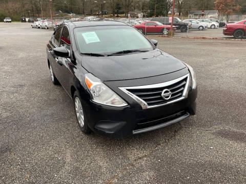 2018 Nissan Versa for sale at Certified Motors LLC in Mableton GA