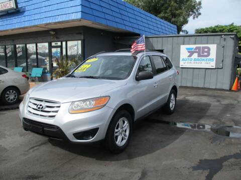 2010 Hyundai Santa Fe for sale at AUTO BROKERS OF ORLANDO in Orlando FL