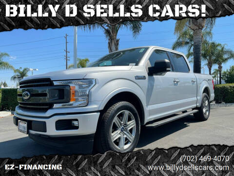 2018 Ford F-150 for sale at BILLY D SELLS CARS! in Temecula CA