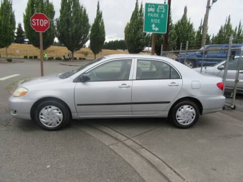 2007 Toyota Corolla for sale at Car Link Auto Sales LLC in Marysville WA