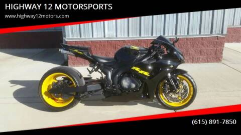 2006 Honda CBR1000RR for sale at HIGHWAY 12 MOTORSPORTS in Nashville TN