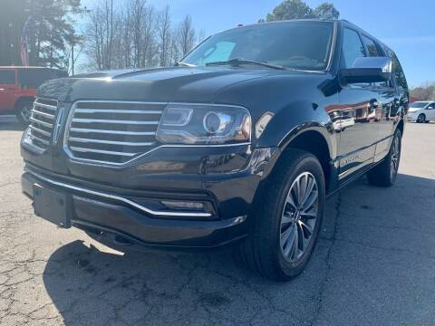 2016 Lincoln Navigator for sale at Airbase Auto Sales in Cabot AR