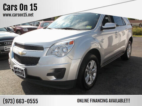 2010 Chevrolet Equinox for sale at Cars On 15 in Lake Hopatcong NJ