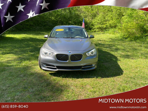 2013 BMW 5 Series for sale at Midtown Motors in Greenbrier TN