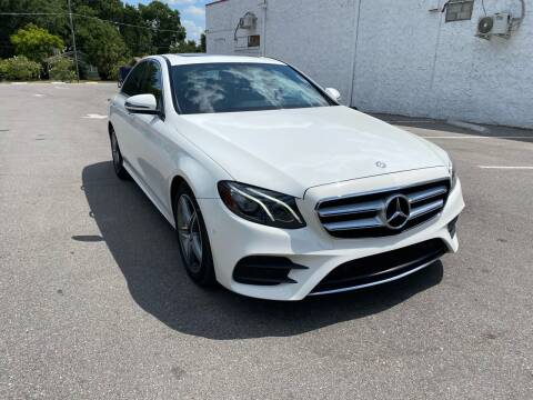 2017 Mercedes-Benz E-Class for sale at LUXURY AUTO MALL in Tampa FL