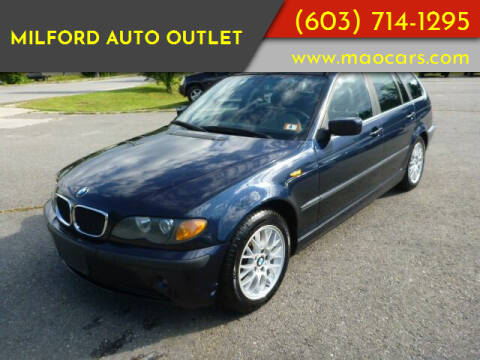 2004 BMW 3 Series for sale at Milford Auto Outlet in Milford NH