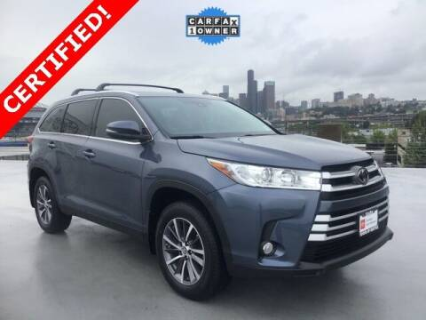2019 Toyota Highlander for sale at Toyota of Seattle in Seattle WA