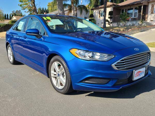 2018 Ford Fusion for sale at CAR CITY SALES in La Crescenta CA