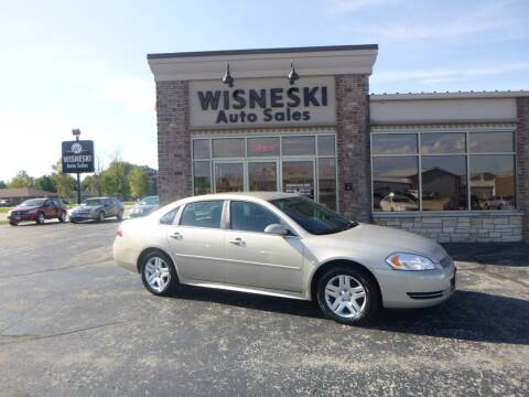 2012 Chevrolet Impala for sale at Wisneski Auto Sales, Inc. in Green Bay WI