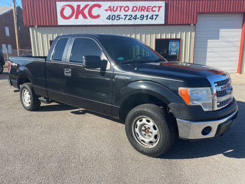 2013 Ford F-150 for sale at OKC Auto Direct in Oklahoma City OK