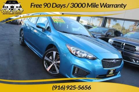 2018 Subaru Impreza for sale at West Coast Auto Sales Center in Sacramento CA