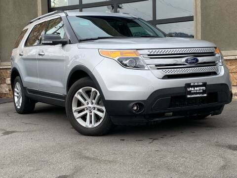 2015 Ford Explorer for sale at Unlimited Auto Sales in Salt Lake City UT