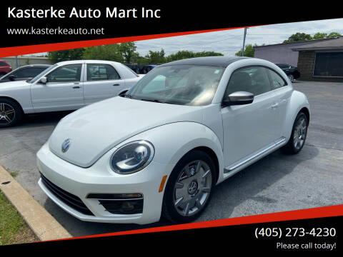 2014 Volkswagen Beetle for sale at Kasterke Auto Mart Inc in Shawnee OK