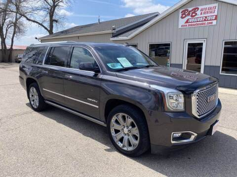 2015 GMC Yukon XL for sale at B & B Auto Sales in Brookings SD