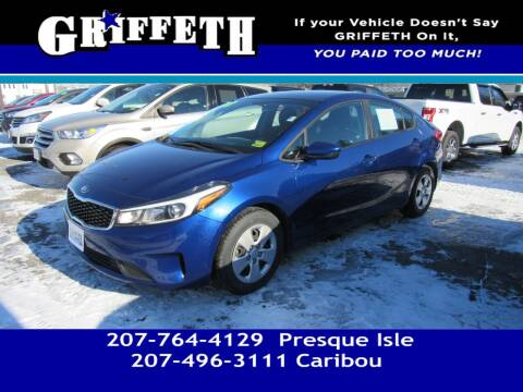 2018 Kia Forte for sale at Griffeth Mitsubishi - Pre-owned in Caribou ME