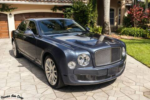 2016 Bentley Mulsanne for sale at Premier Auto Group of South Florida in Wellington FL