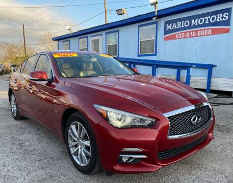 2014 Infiniti Q50 for sale at Mario Motors in South Houston TX