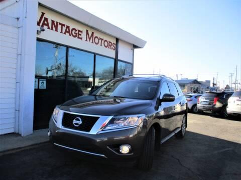 2016 Nissan Pathfinder for sale at Vantage Motors LLC in Raytown MO