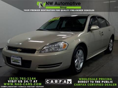 2009 Chevrolet Impala for sale at NW Automotive Group in Cincinnati OH