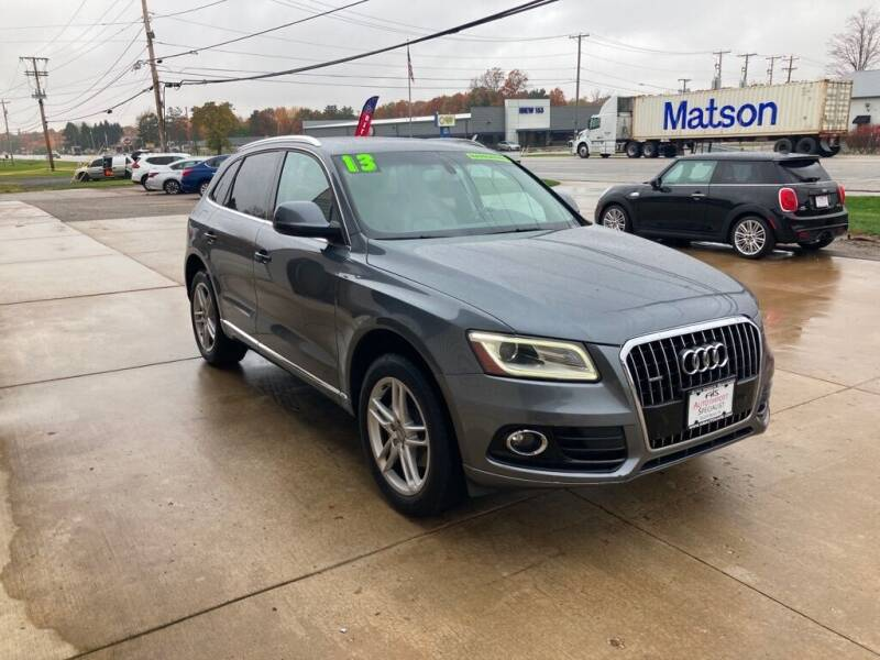 2013 Audi Q5 for sale at Auto Import Specialist LLC in South Bend IN