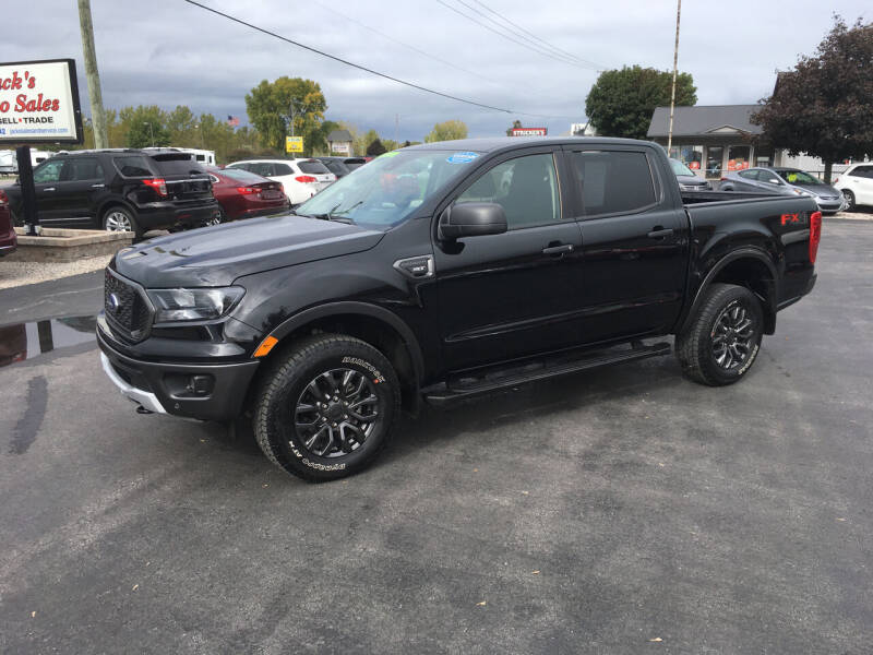 2019 Ford Ranger for sale at JACK'S AUTO SALES in Traverse City MI