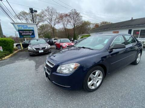 2009 Chevrolet Malibu for sale at Sports & Imports in Pasadena MD