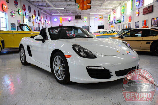 2015 Porsche Boxster for sale at Classics and Beyond Auto Gallery in Wayne MI
